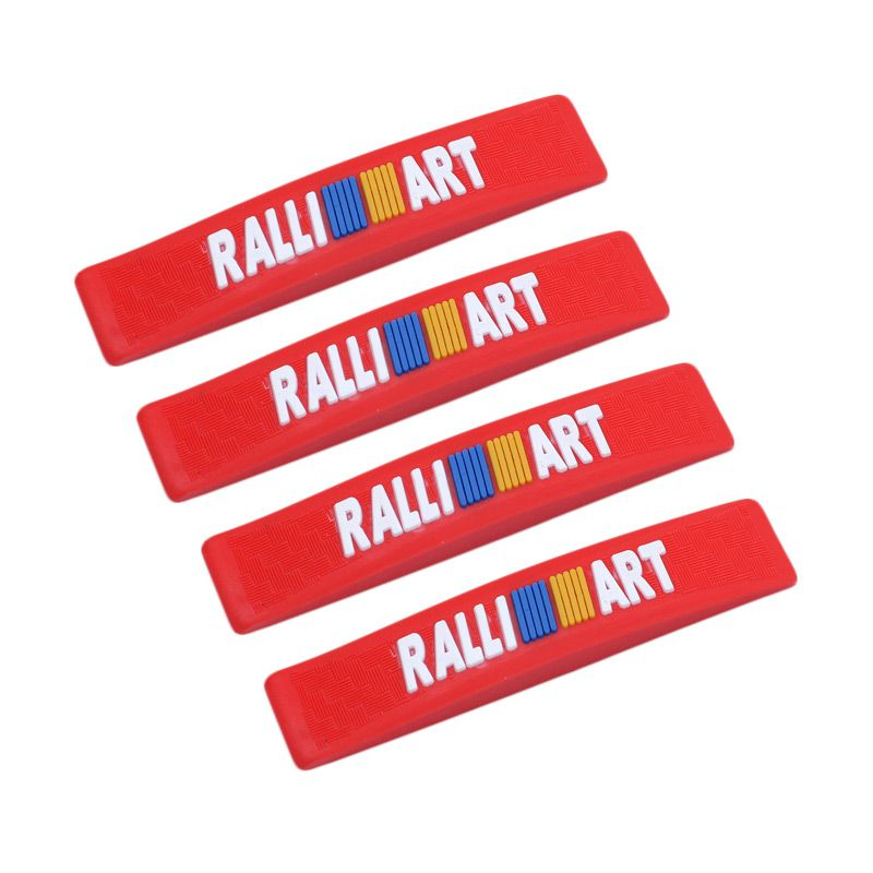 Klikoto C-YY Simple Motif Ralli Art Red Door Guard