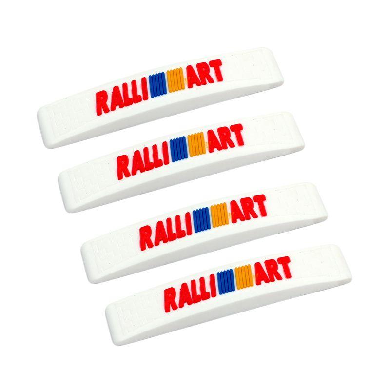 Klikoto C-YY Simple Motif Ralli Art White Door Guard