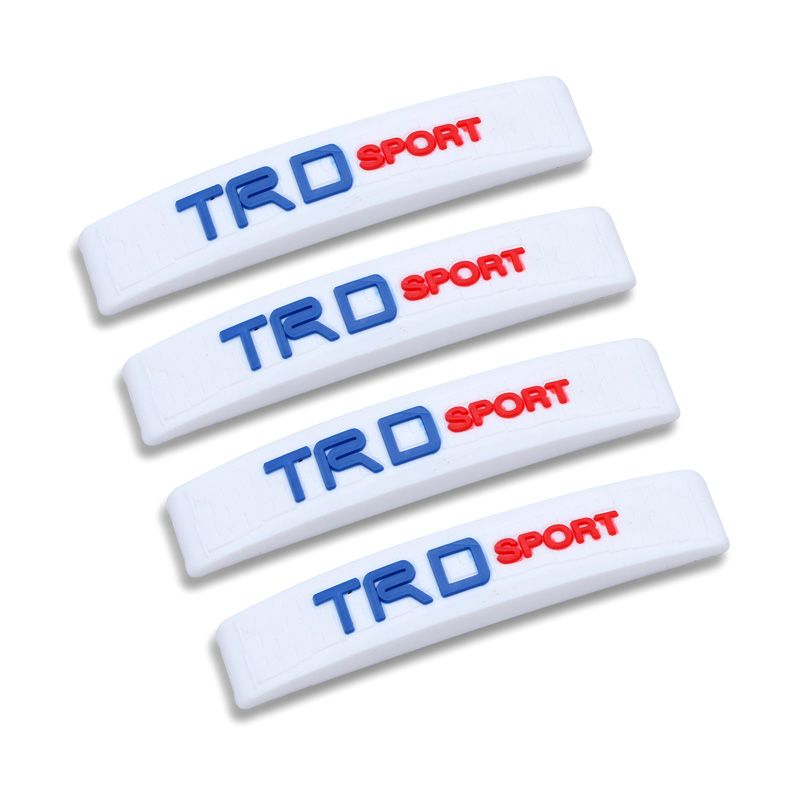 Klikoto C-YY Simple Motif TRD Sport White Door Guard