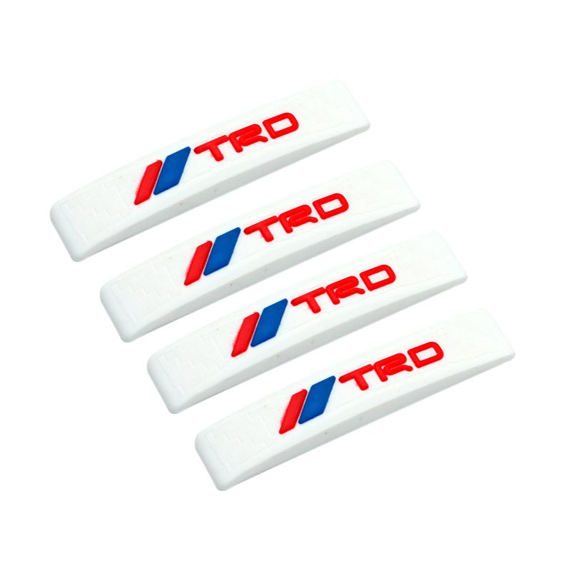 Klikoto C-YY Simple Motif TRD Stripe White Door Guard