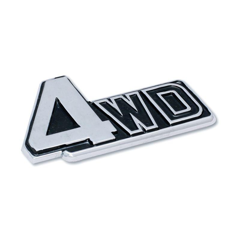 Klikoto Emblem Black Logo for 4WD