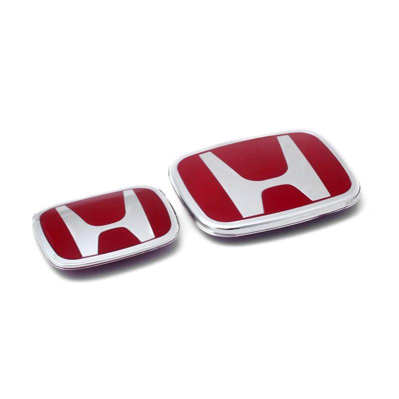 Klikoto Original Merah Emblem for Honda All New CRV