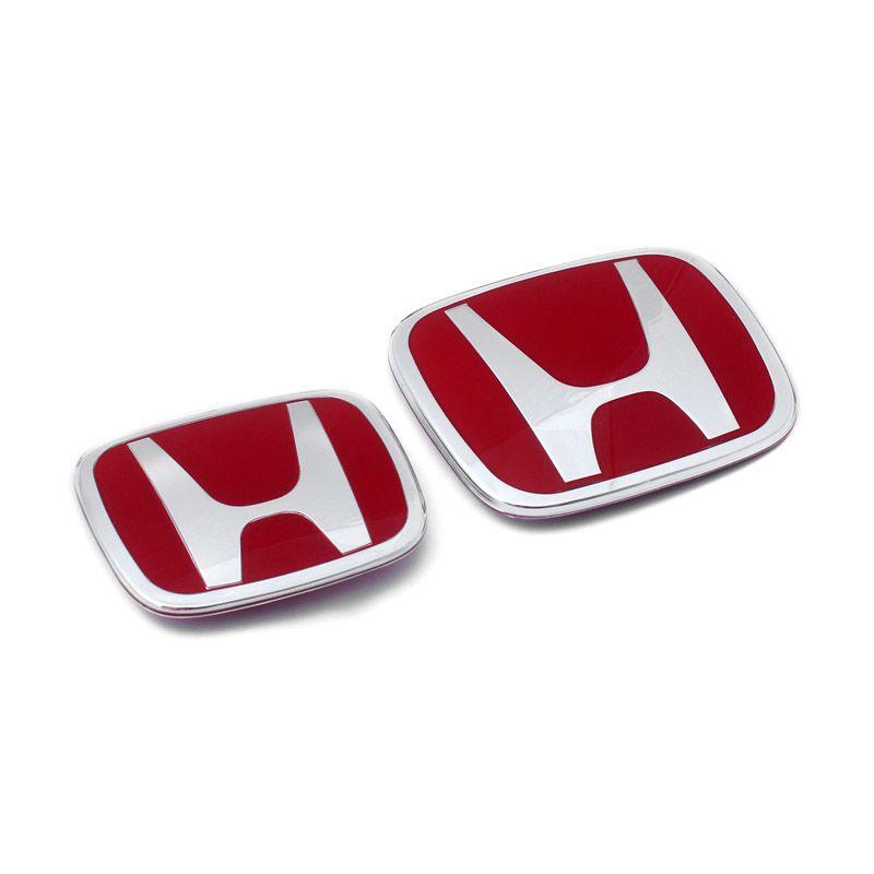 Klikoto Original Merah Emblem for Honda Brio