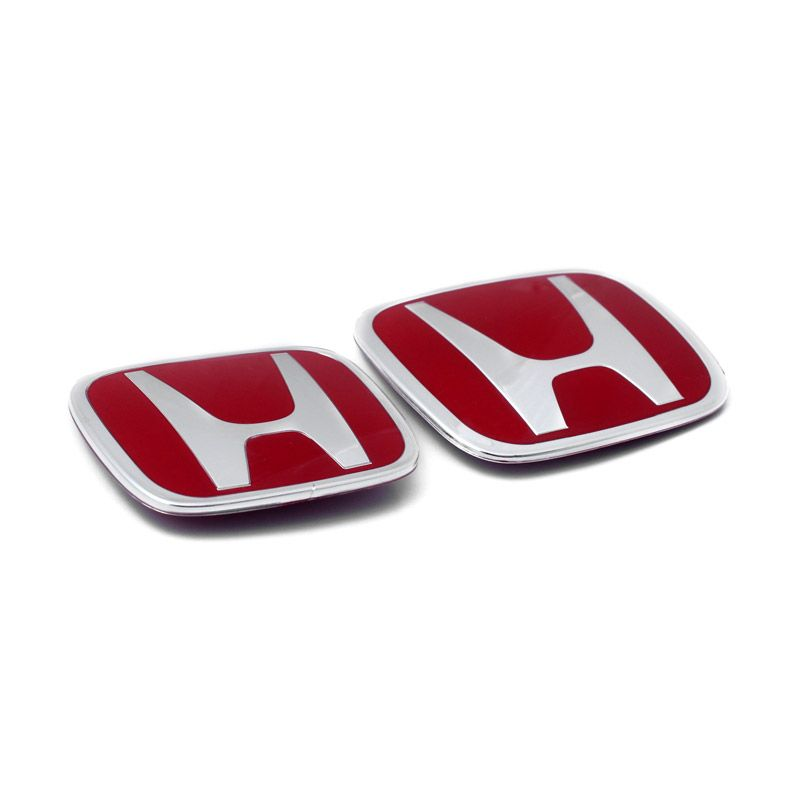 Klikoto Original Merah Emblem for Honda Jazz 08-13