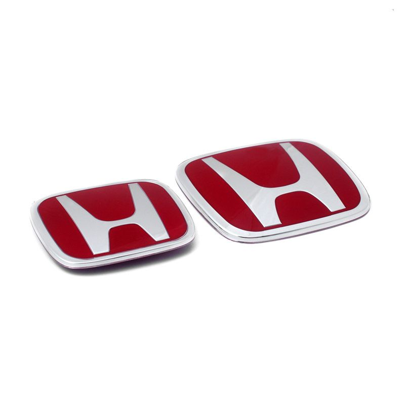 Klikoto Original Merah Emblem for Honda Jazz'14