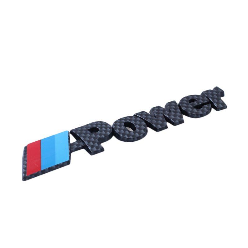 Klikoto Emblem Logo for M-Power - Carbon