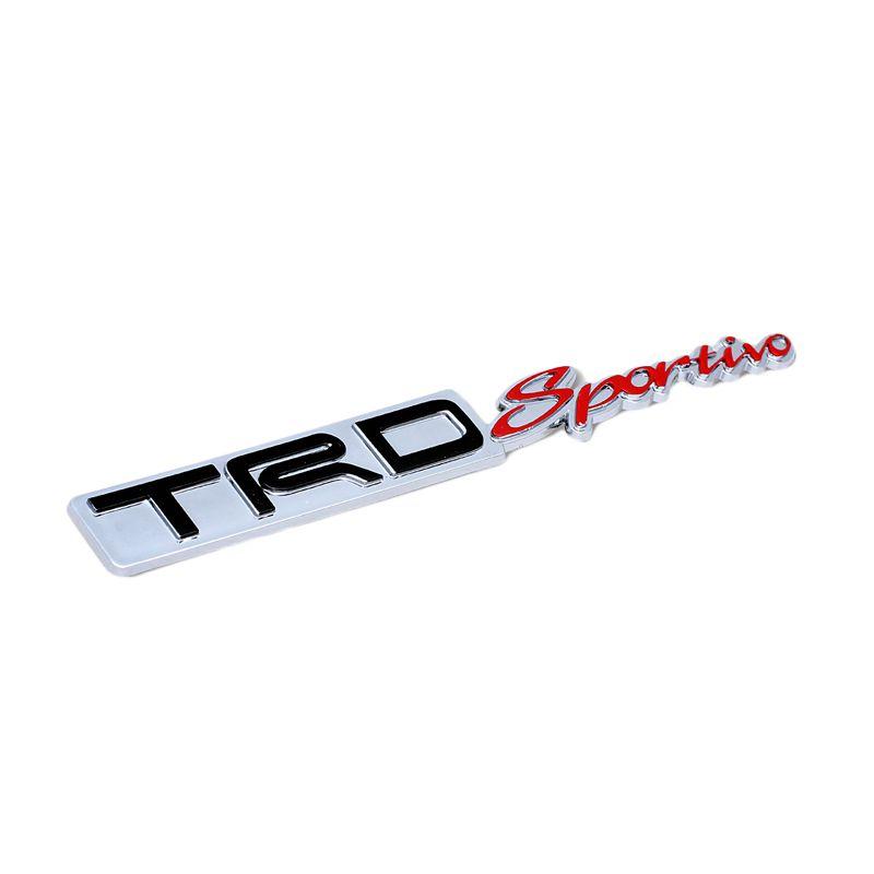 Klikoto Emblem Logo for TRD Sportivo - Embose Chrome [Small]