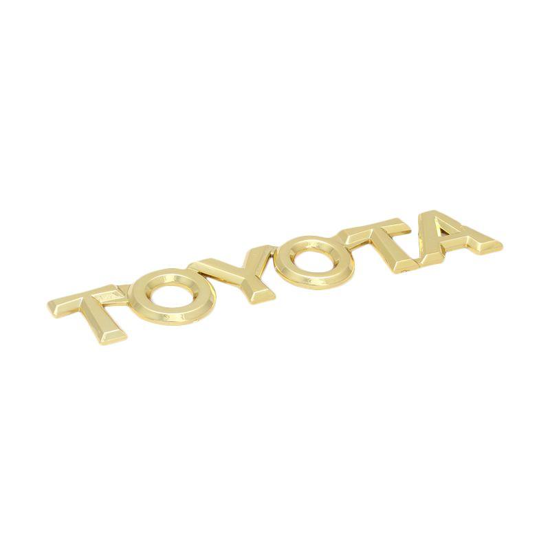 Klikoto Emblem Logo Gold For Toyota