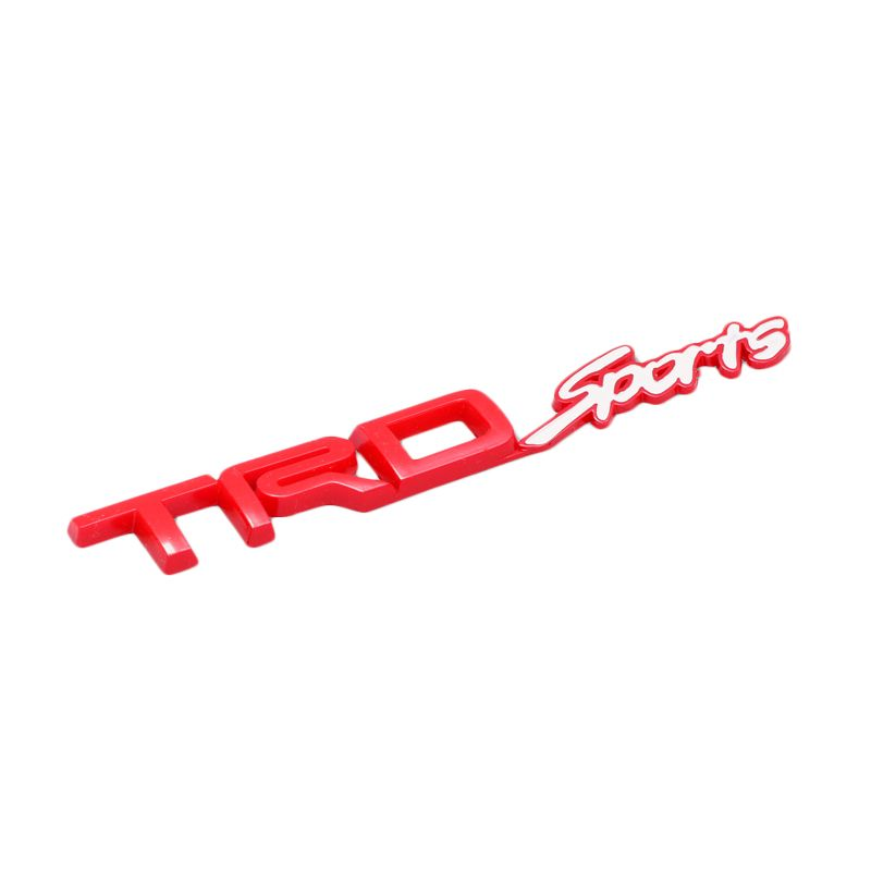 Klikoto Emblem Logo Red for TRD Sport