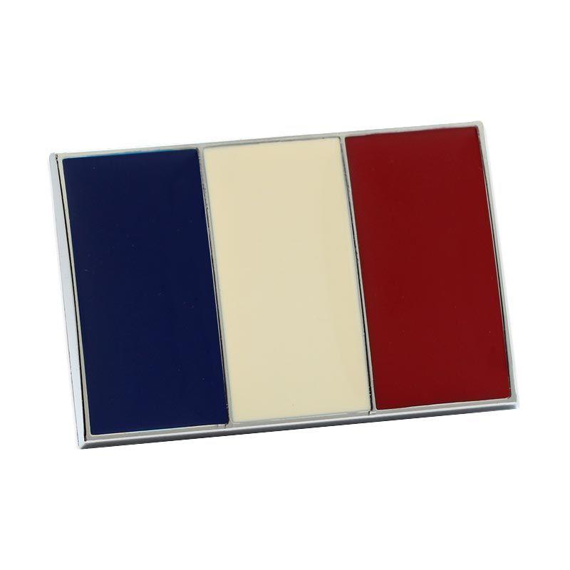 Klikoto Exclusive Emblem France Aksesoris Mobil