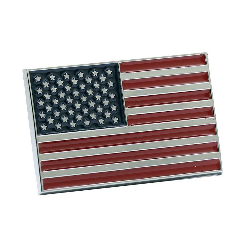 Klikoto Exclusive Emblem USA Aksesoris Mobil