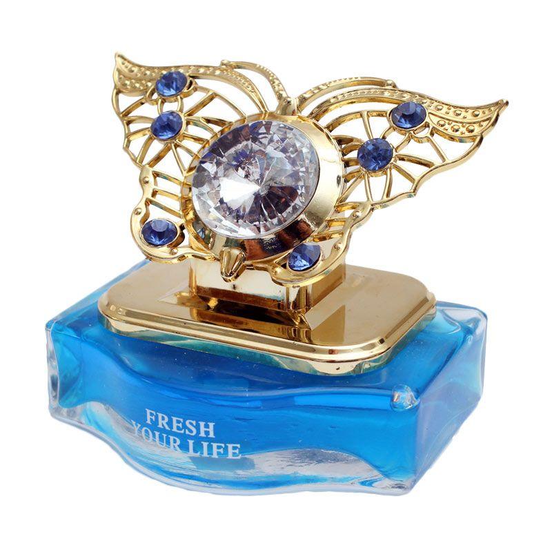 Klikoto Luxury KupuKupu Kristal Parfum Mobil