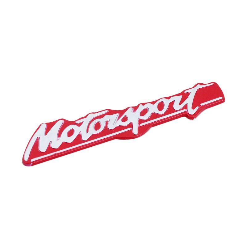 Klikoto Red Emblem Logo for Motorsport