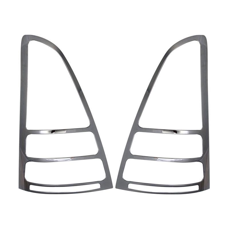 Klikoto Silver Garnish Lampu Belakang Set for Toyota Innova Lama