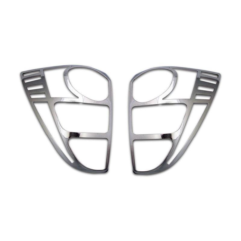 Klikoto Silver Garnishh Lampu Belakang Set for Toyota Rush Lama