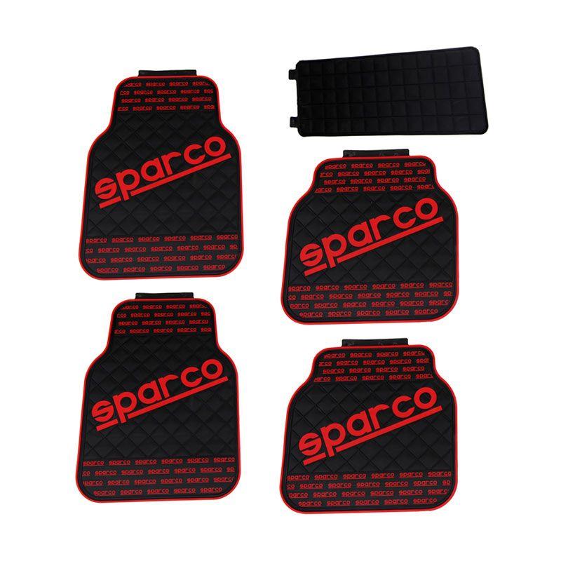 Klikoto Universal Model SPARCO Black Red Karpet Mobil
