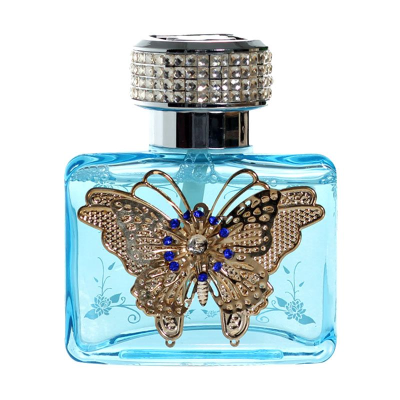 Klikoto Luxury Botol Kupu Kupu Parfum Mobil