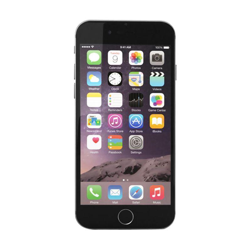 Apple iPhone 6 16 GB Gray Smartphone [Garansi Resmi 1 Tahun Iphone Indonesia-MTS]