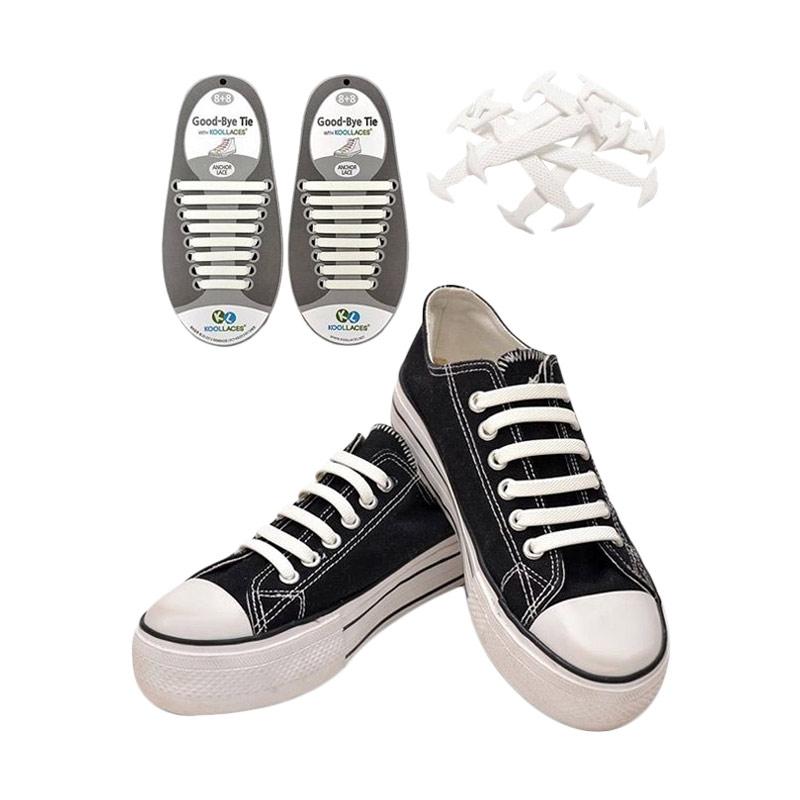 Koollaces Anak Tali Sepatu - White