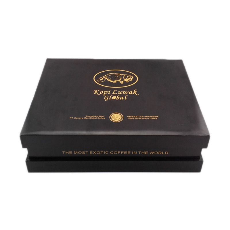 Kopi Luwak Global Arabica Exclusive Gift Box Luwak liar Coffee [100 gr] Roasted Beans