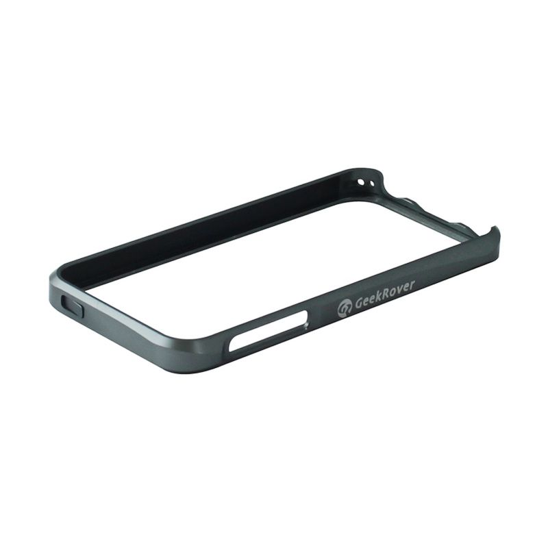 GeekRover Apple iPhone 5/5S Sliding Bumper - Abu-abu Gelap