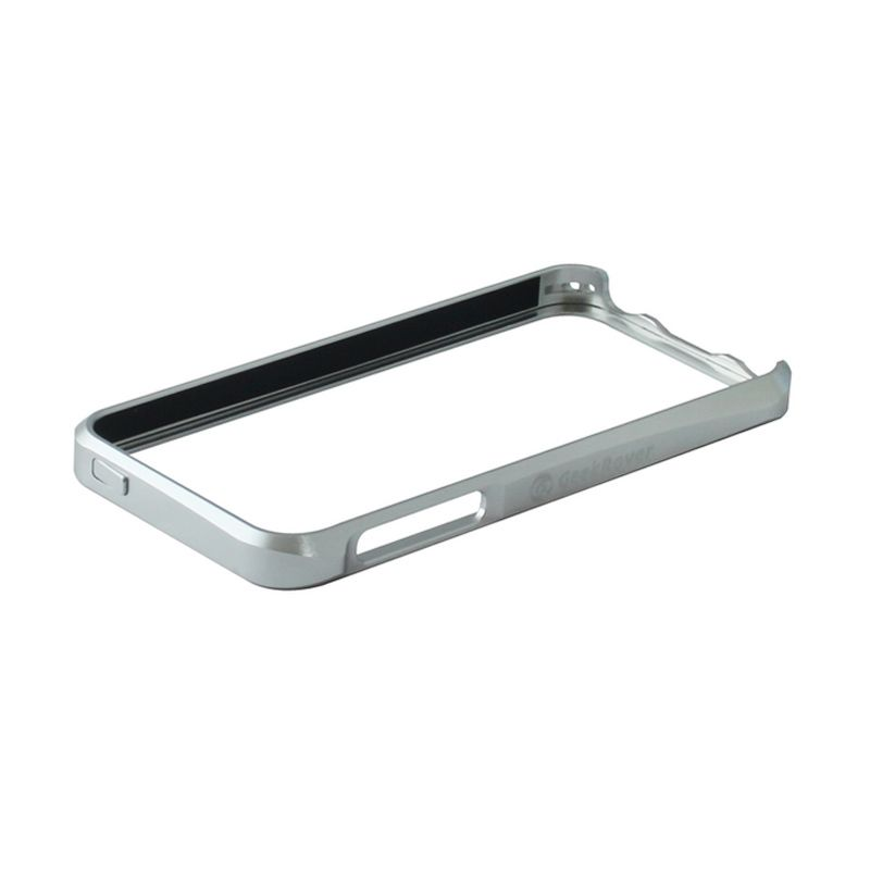 GeekRover Apple iPhone 5 / 5S Sliding Bumper - Silver