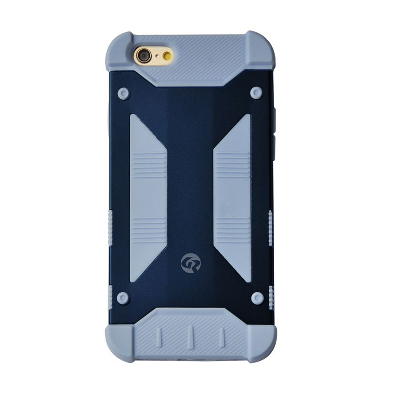 GeekRover Armor Hybrid Blue Casing for Apple iPhone 6