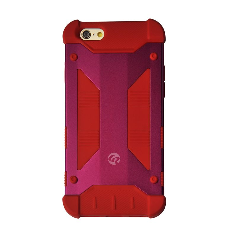 GeekRover Armor Hybrid Red Casing for Apple iPhone 6