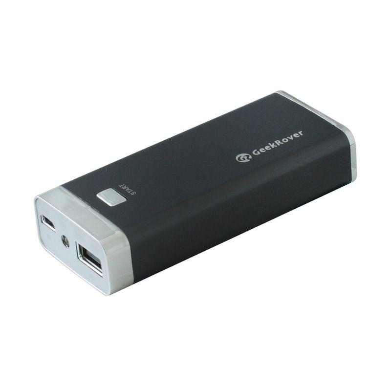 GeekRover Powerbank - 4400 mAh - Hitam