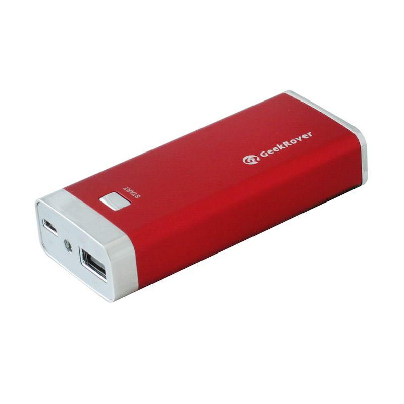 GeekRover Powerbank - 4400 mAh - Merah