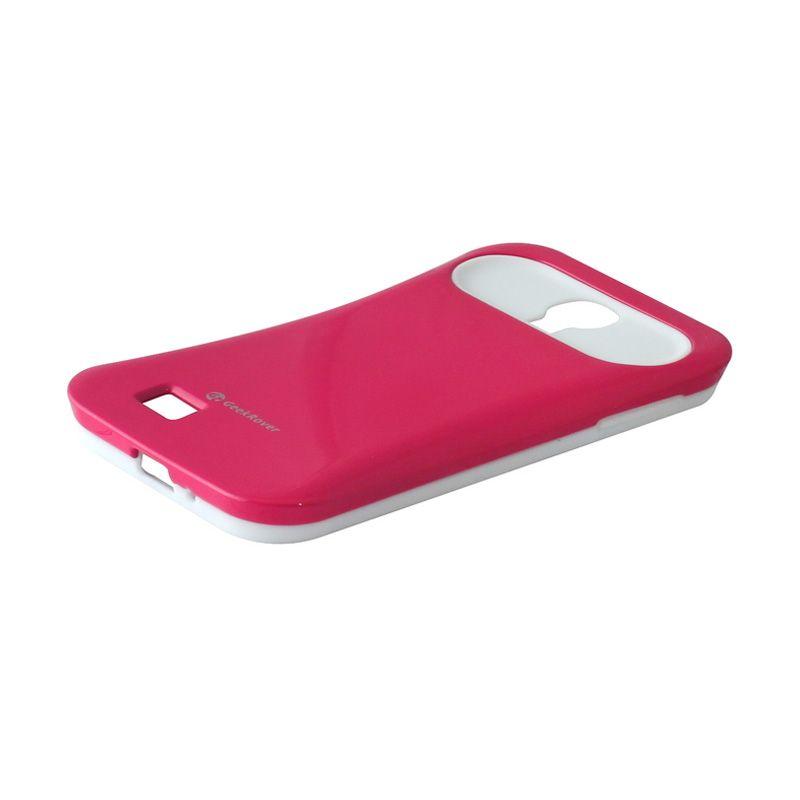 GeekRover Silicone Case - Samsung S4 - Merah Muda