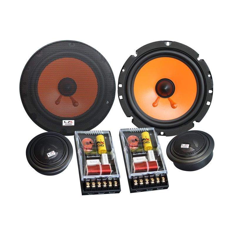 HR-SERIES 2-Way Component Speaker Mobil [6.25 Inch]
