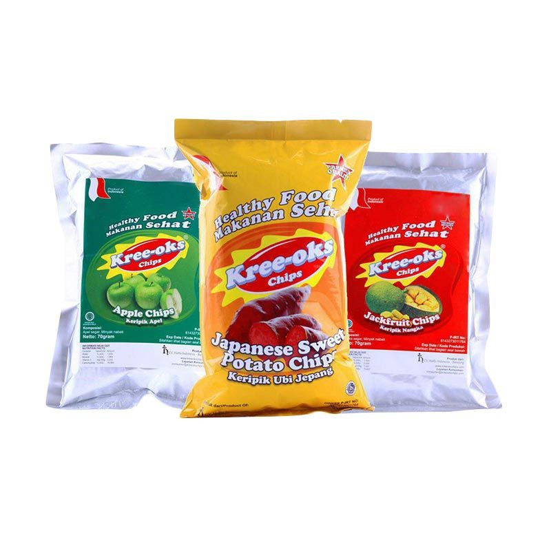Kreeoks Chips Mix 9 [12 Pcs]