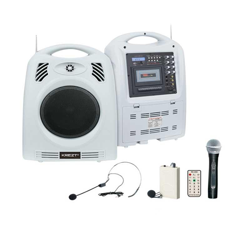 harga Krezt HDT-9909 Portable Wireless PA Amplifier Blibli.com
