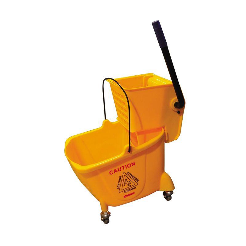 Krisbow Bucket Wringer Mini One Pail Kuning Alat Pel [24 L]