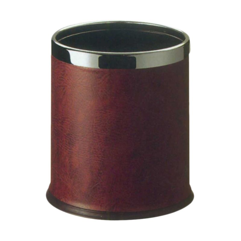 Krisbow Round Guest Room Dustbin Red Tempat Sampah [22.5 x 27 cm]