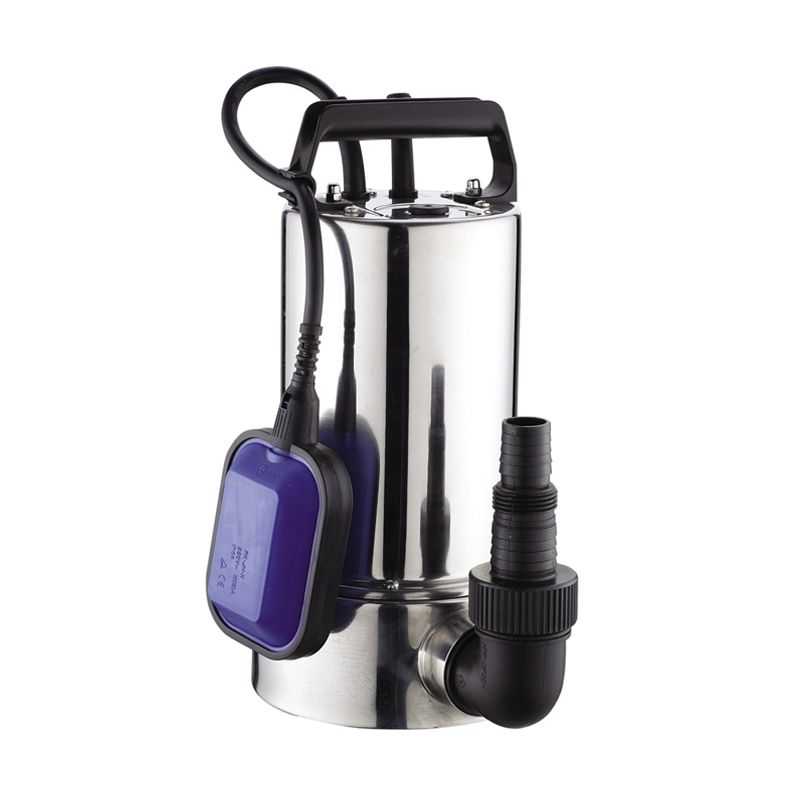 Krisbow Selam Submersible with AT Switch Silver Pompa Air [400 Watt]