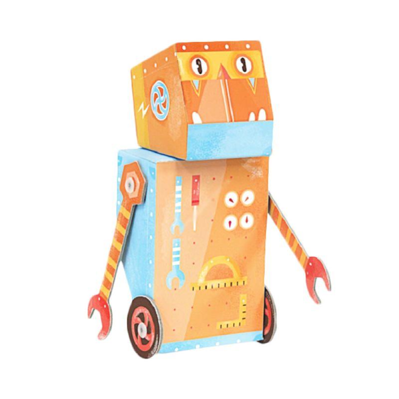 Kroom Builder robot Mainan Anak