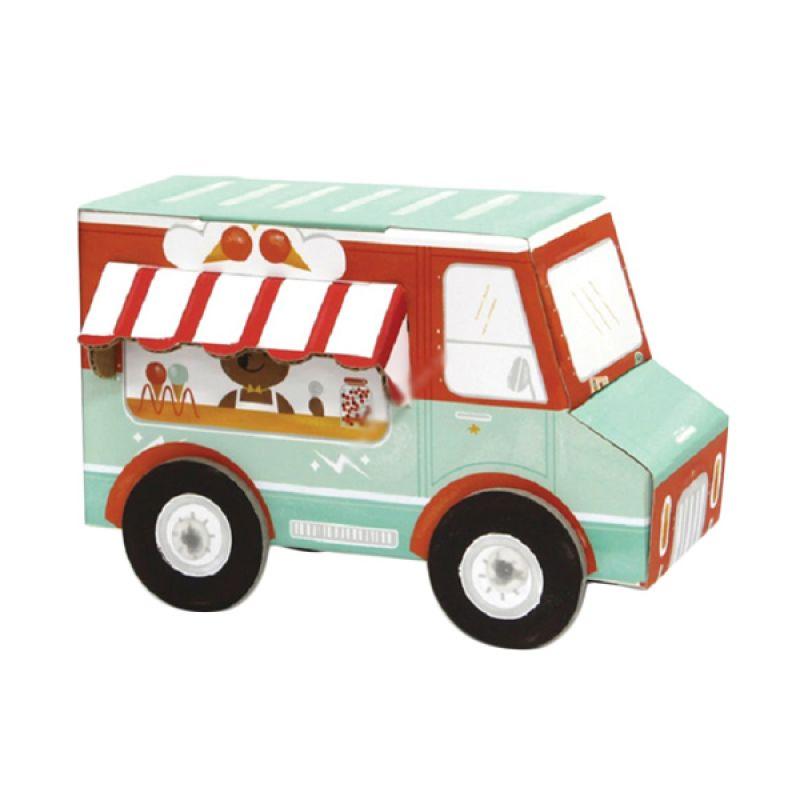 Kroom Ice Cream Truck Mainan Anak