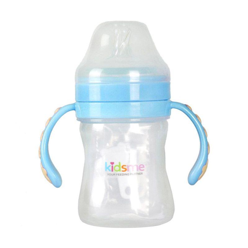 Kidsme Milk Bottle Anti Colic 180 Ml Blue