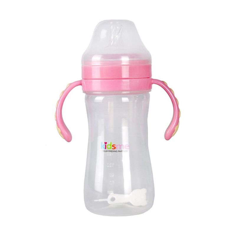 Kidsme Milk Bottle Anti Colic 270 Ml Pink