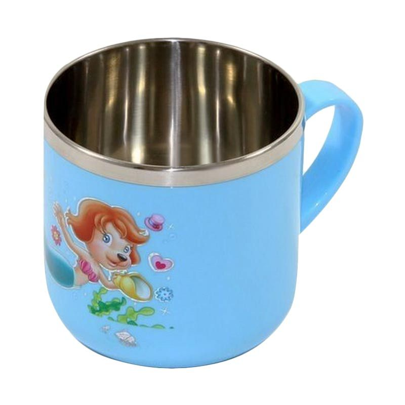 Lucky Baby Stainless Cup Blue