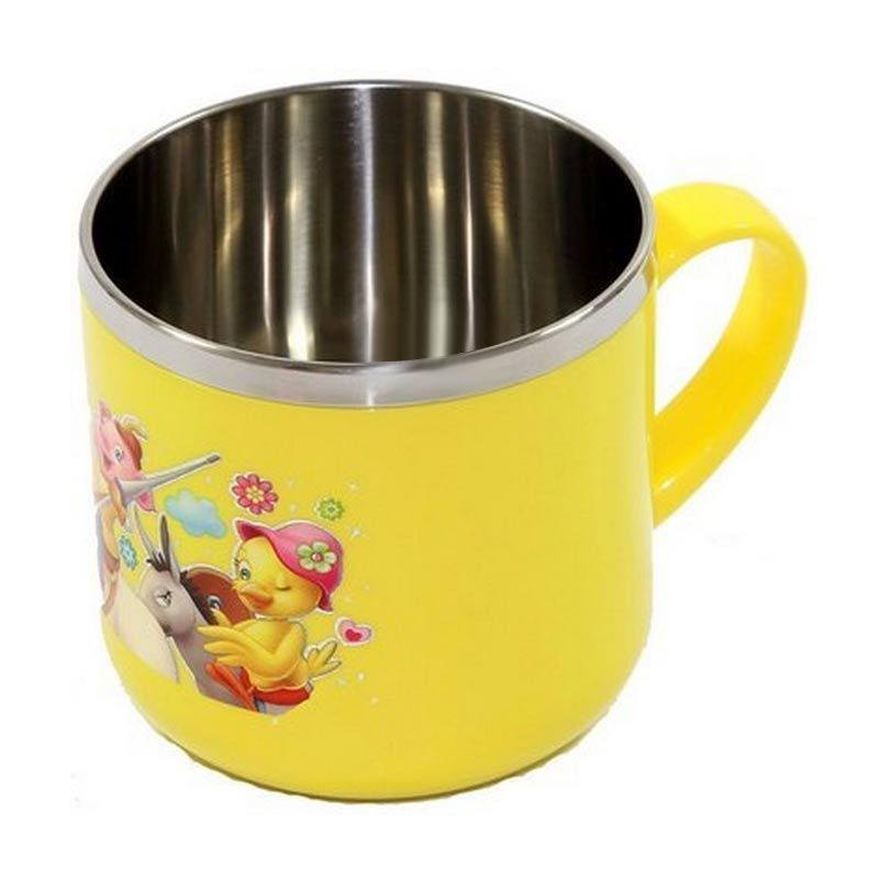 Lucky Baby Stainless Cup Yellow