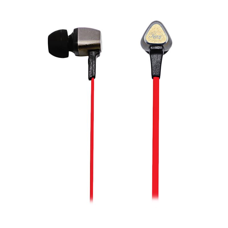 Kura KU-001 In-Ear Headset - Red