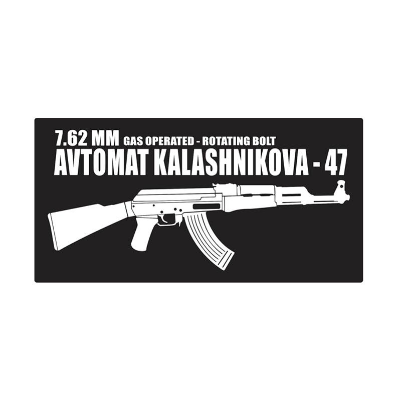 Kyle AK-47 Avtomat Kalashnikova Cutting Sticker