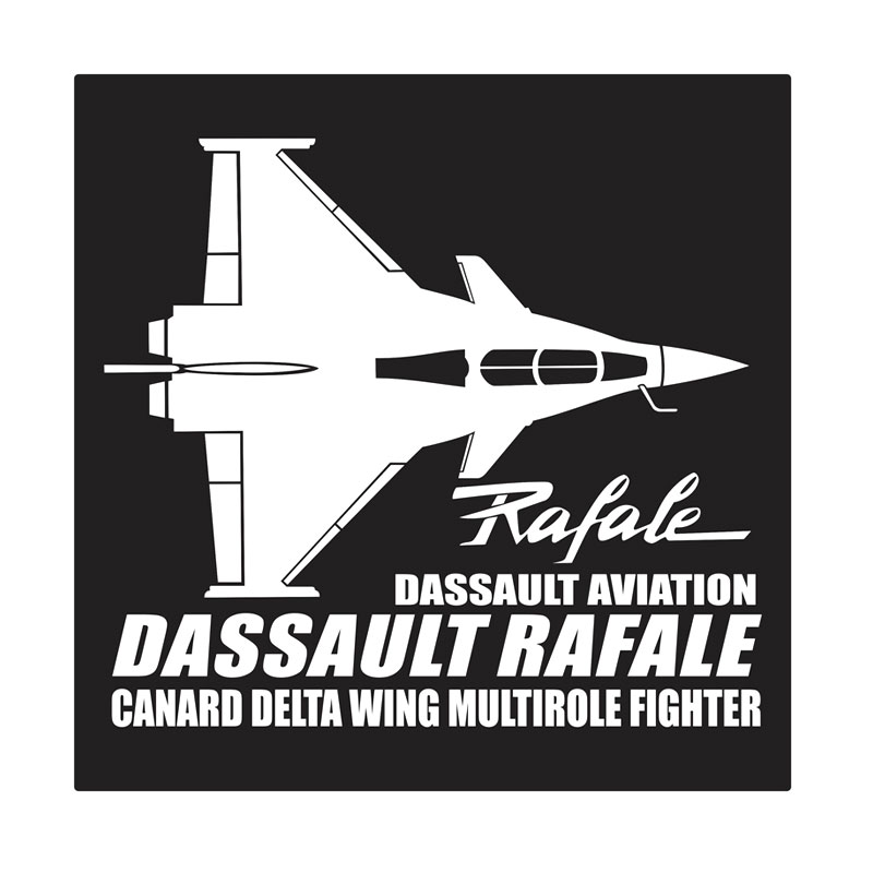 Kyle Dassault Rafale Cutting Sticker
