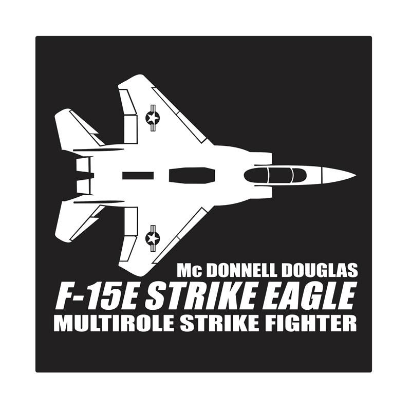 Kyle F-15E Strike Eagle Cutting Sticker
