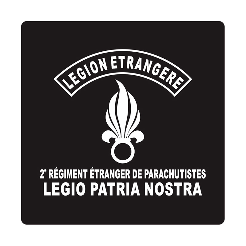 Kyle French Legion Cutting Sticker