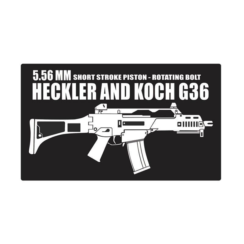 Kyle Heckler & Koch G36 Cutting Sticker