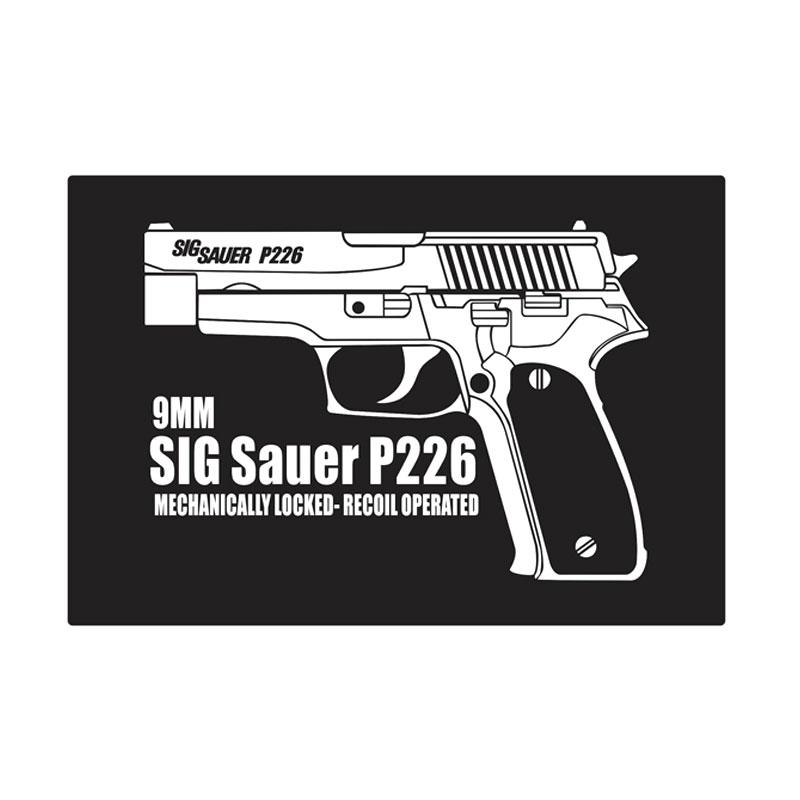 Kyle SIG Sauer P226 Cutting Sticker